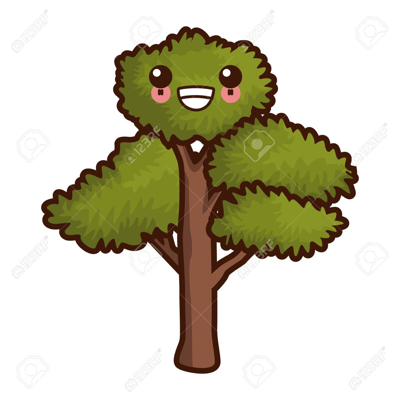 Tree Nature Symbol Cute Cartoon Vector Illustration Graphic Design Royalty Free Cliparts Vectors And Stock Illustration Image 88756312 3d cartoon plants models download , free cartoon plants 3d models and 3d objects for computer graphics applications like advertising, cg works, 3d visualization, interior design, animation and 3d. tree nature symbol cute cartoon vector illustration graphic design