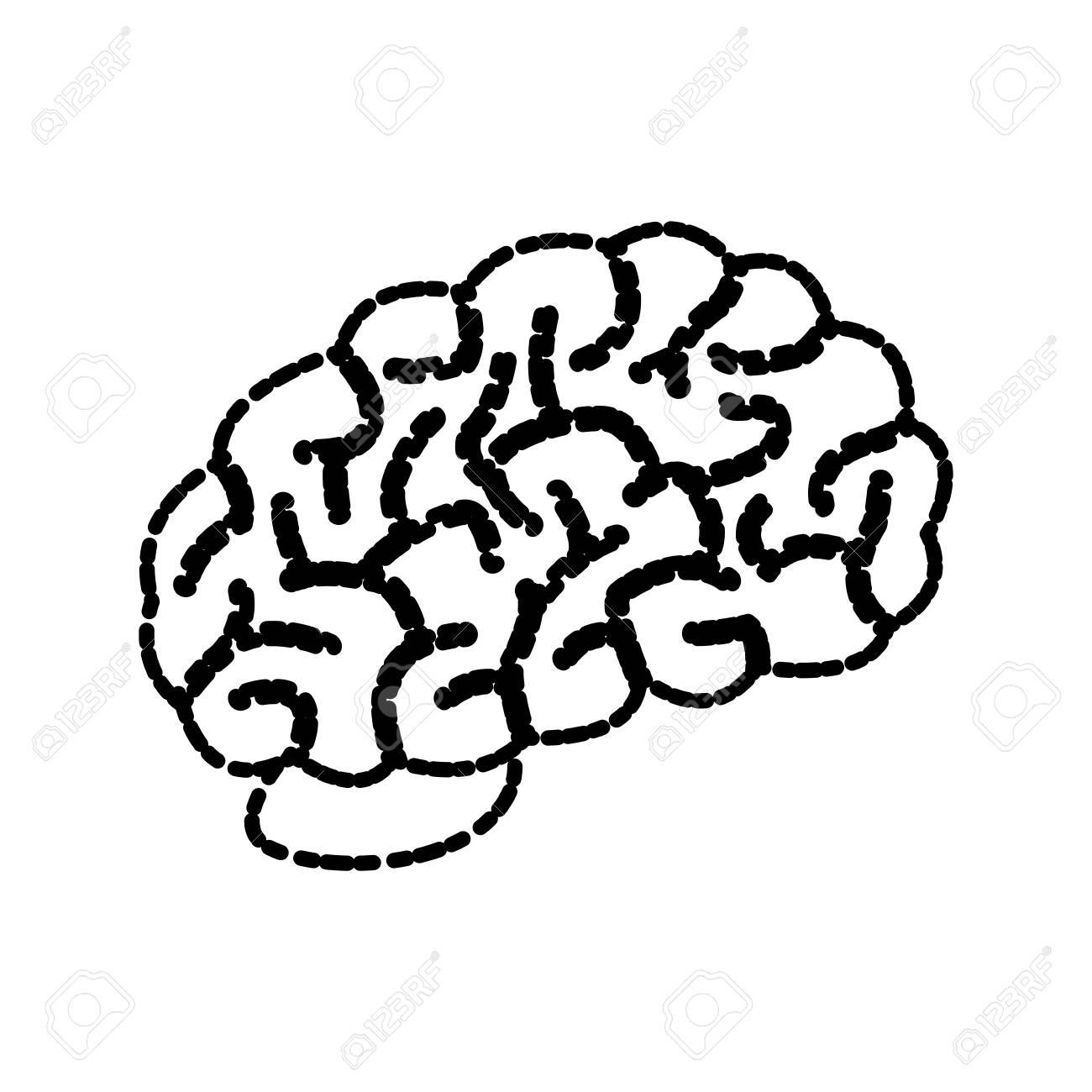 Human brain symbol icon vector illustration graphic design royalty human brain symbol icon vector illustration graphic design stock vector 88790987 biocorpaavc Images