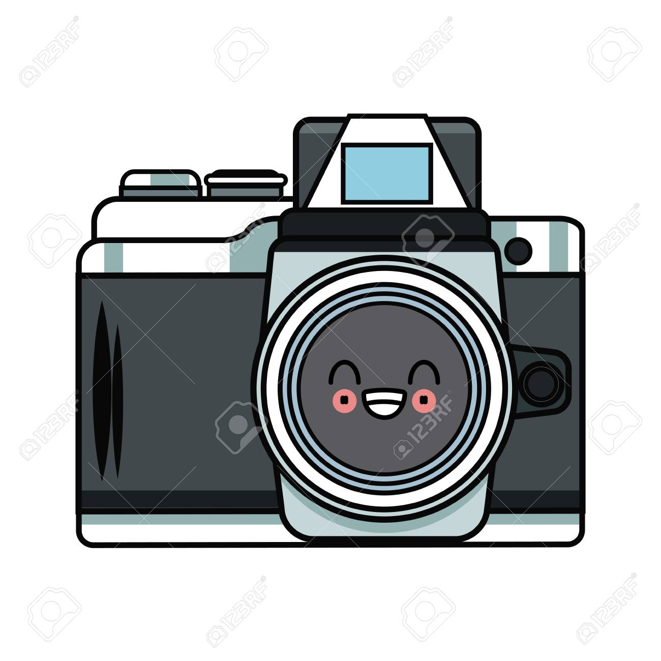 Vintage Camera Cartoon Graphic Royalty Free Cliparts Vectors And Stock Illustration Image 89171160