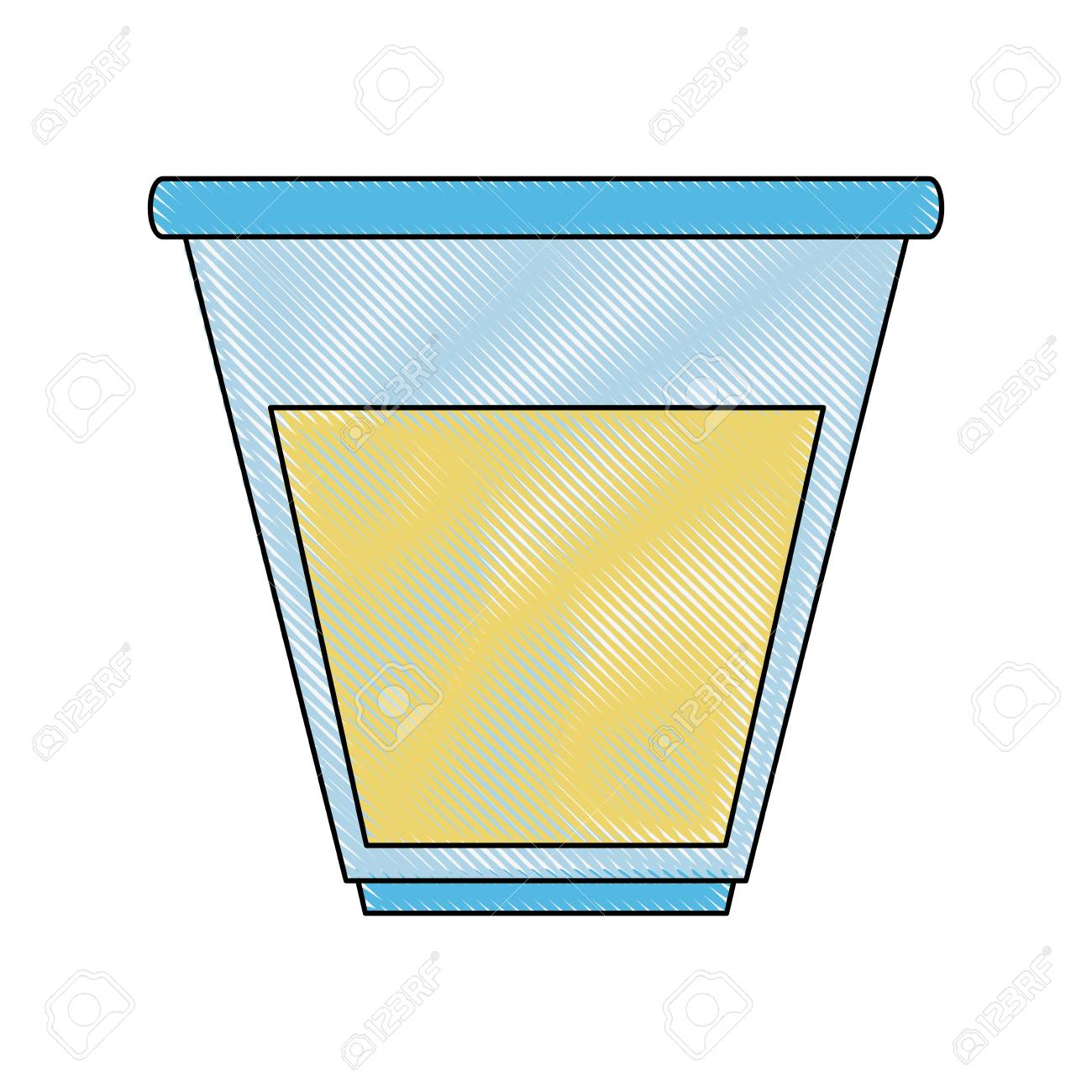urine test container icon vector illustration graphic design royalty rh 123rf com