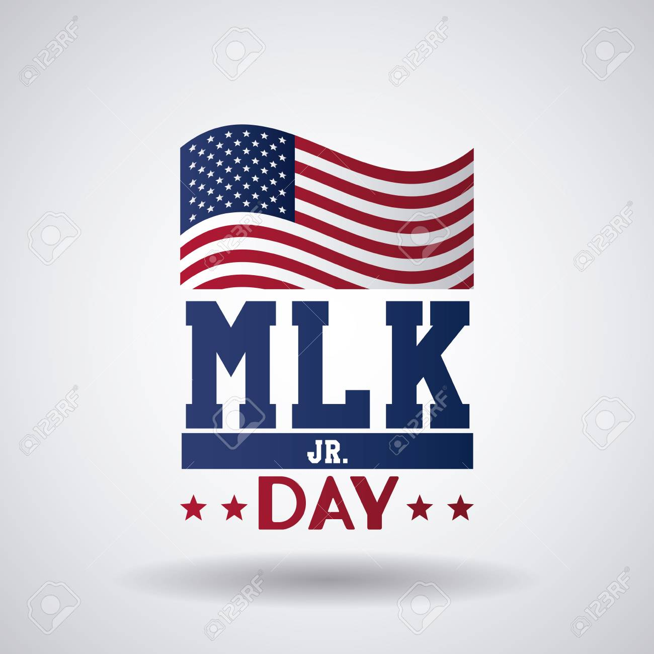 Martin luther king JR day icon vector illustration graphic - 90253809