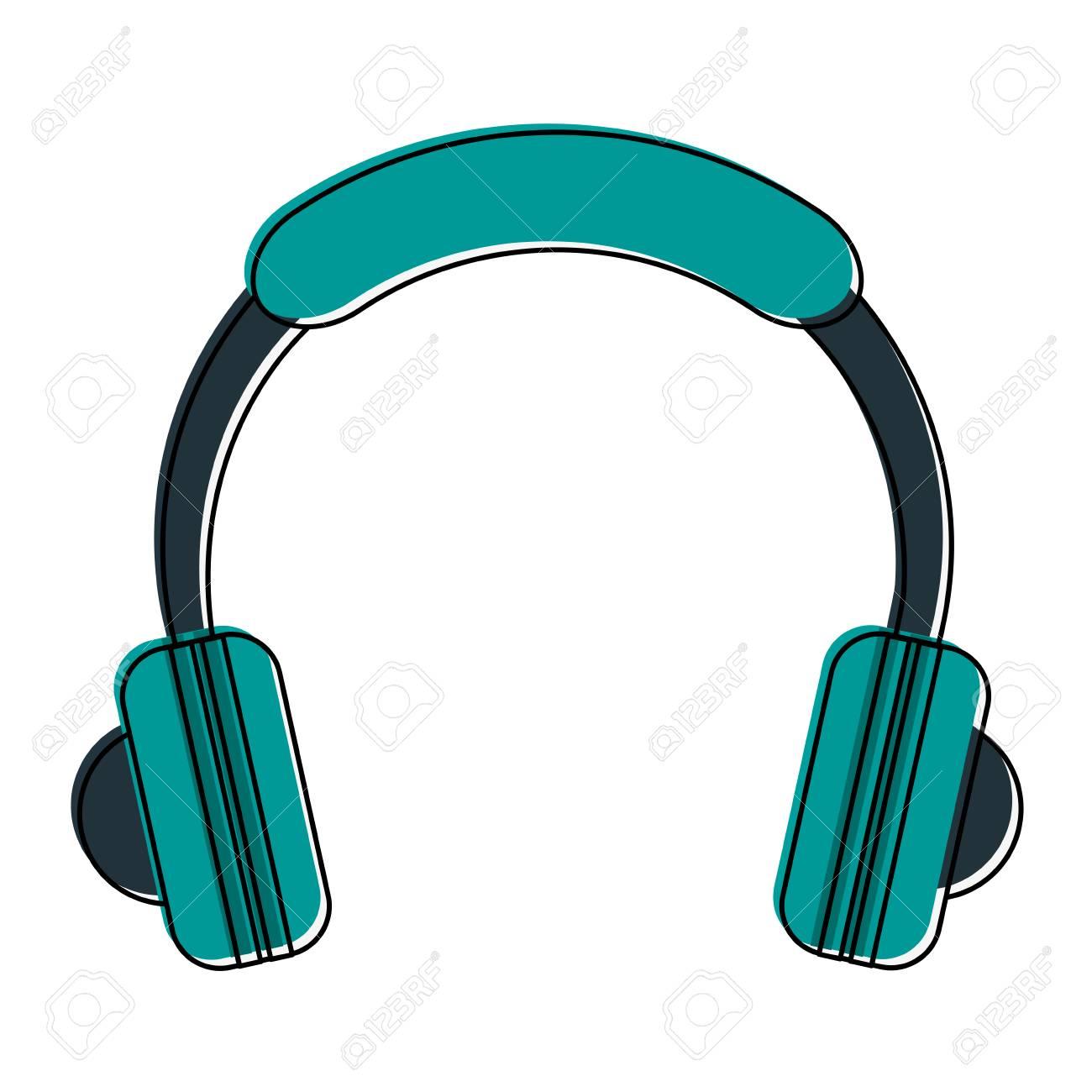 Musik Kopfhörer Gerät Symbol Lizenzfrei Nutzbare Vektorgrafiken ...