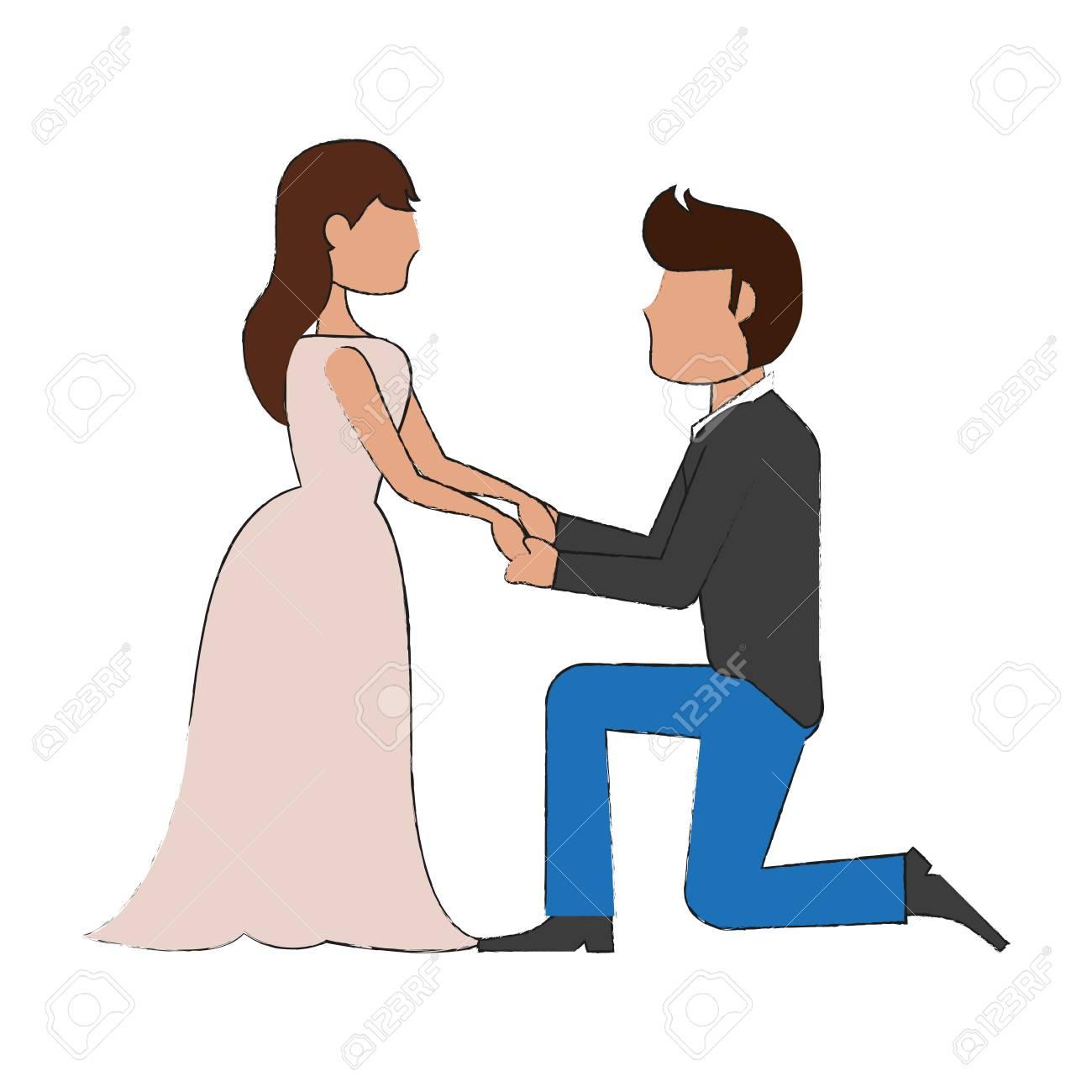 「婚約 イラスト」の画像検索結果