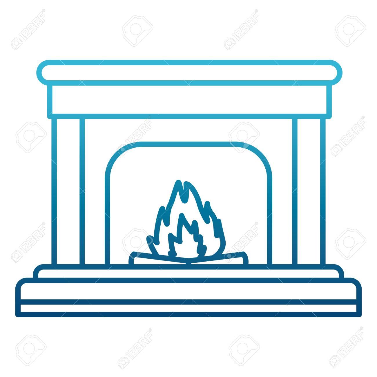 Home Chimney Construction Icon Vector Illustration Graphic Design ...