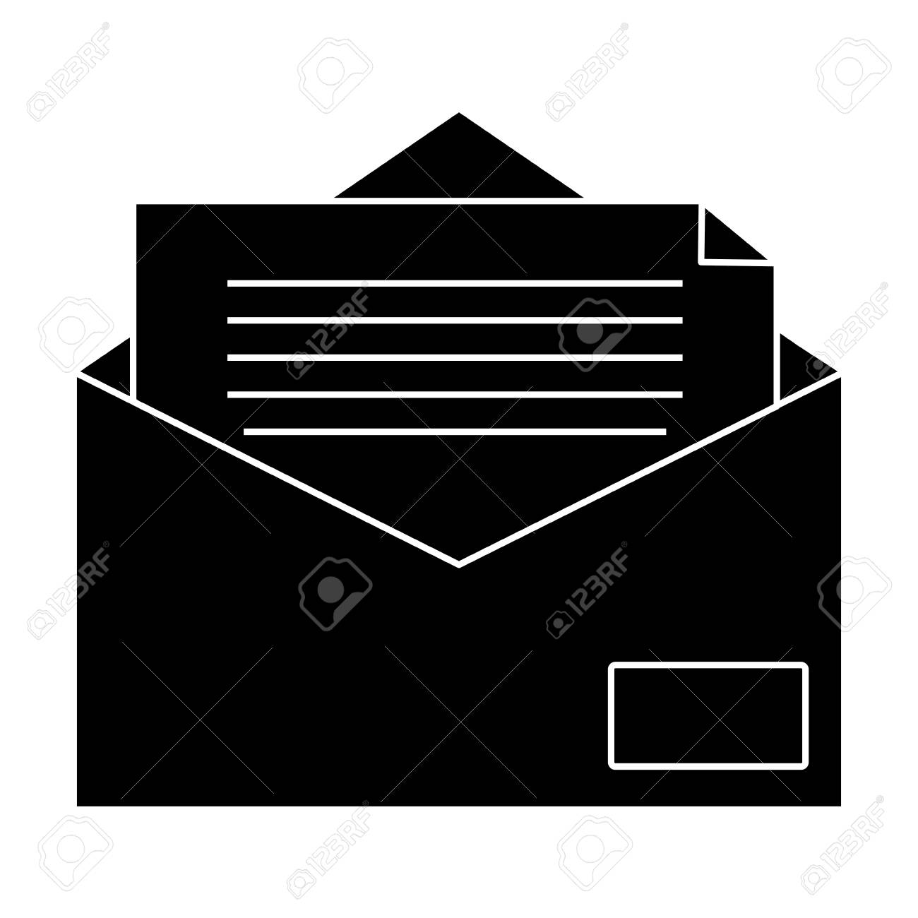 Mail Or Email Symbol Icon Vector Illustration Graphic Design