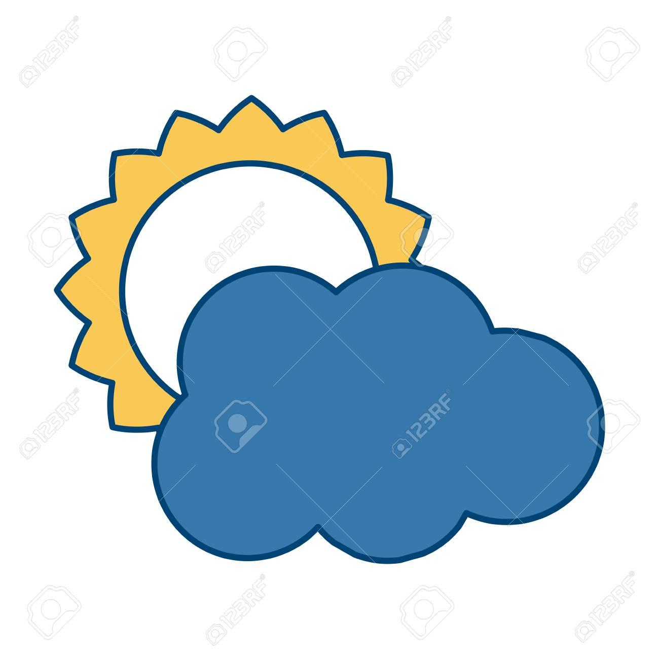 sun and cloud weather symbol icon vector illustration graphic rh 123rf com cloud motion vectors cloud motion vectors