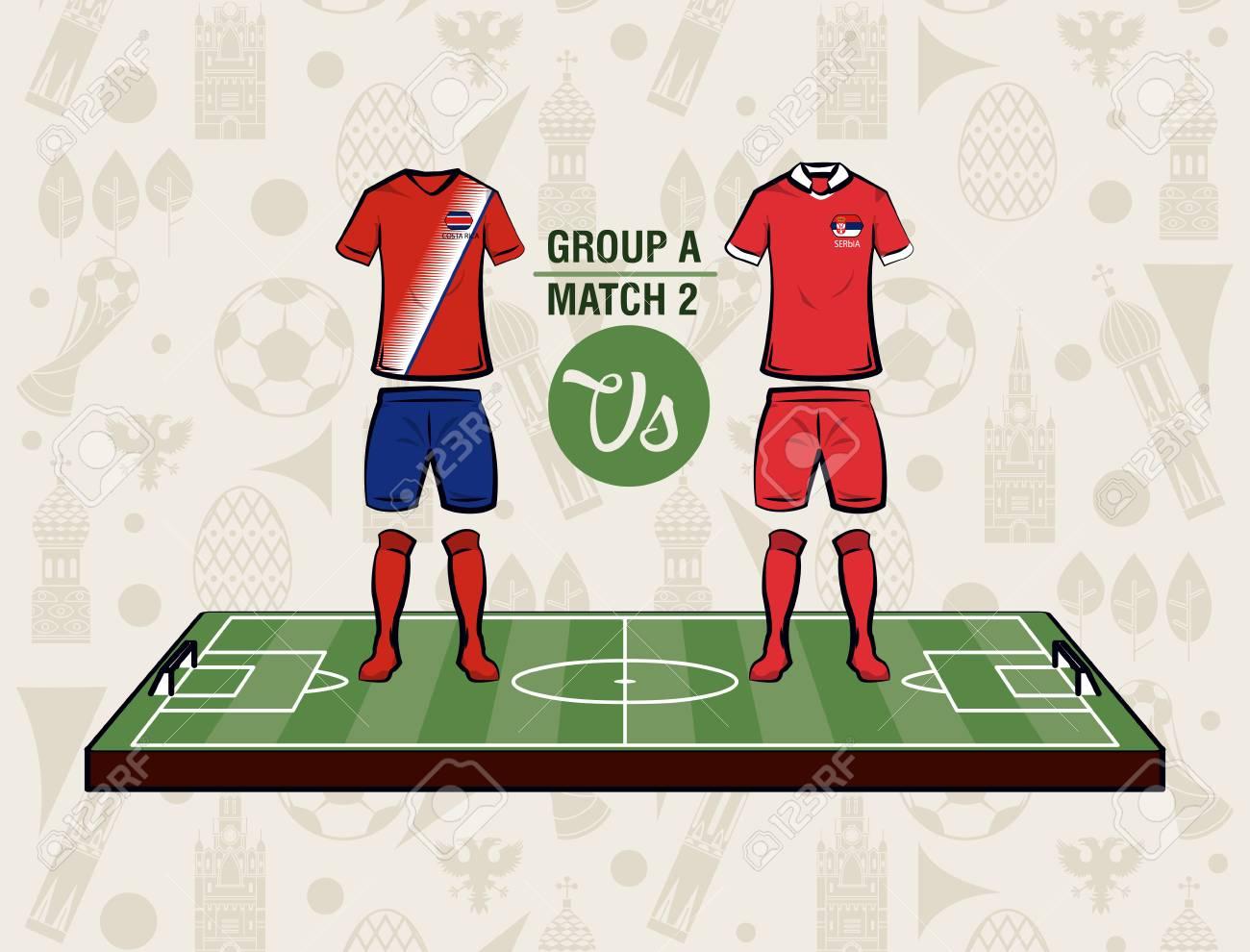 Football sport wear russia 2018 vector illustration graphic design Stock  Vector - 104505122 37226d9b4