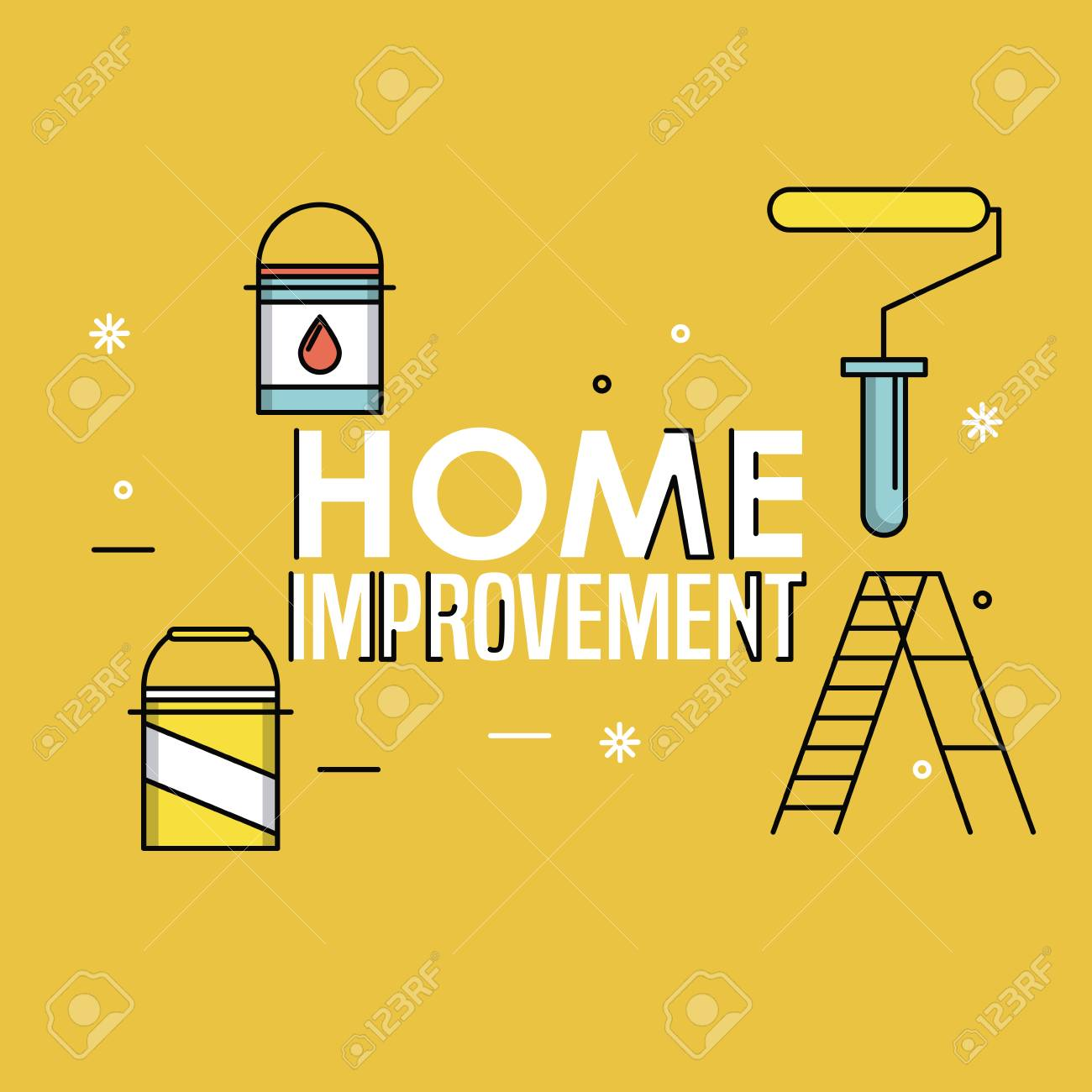 Home Improvement And Construction Tools Concept Vector Illustration Royalty Free Cliparts Vectors And Stock Illustration Image 122790578