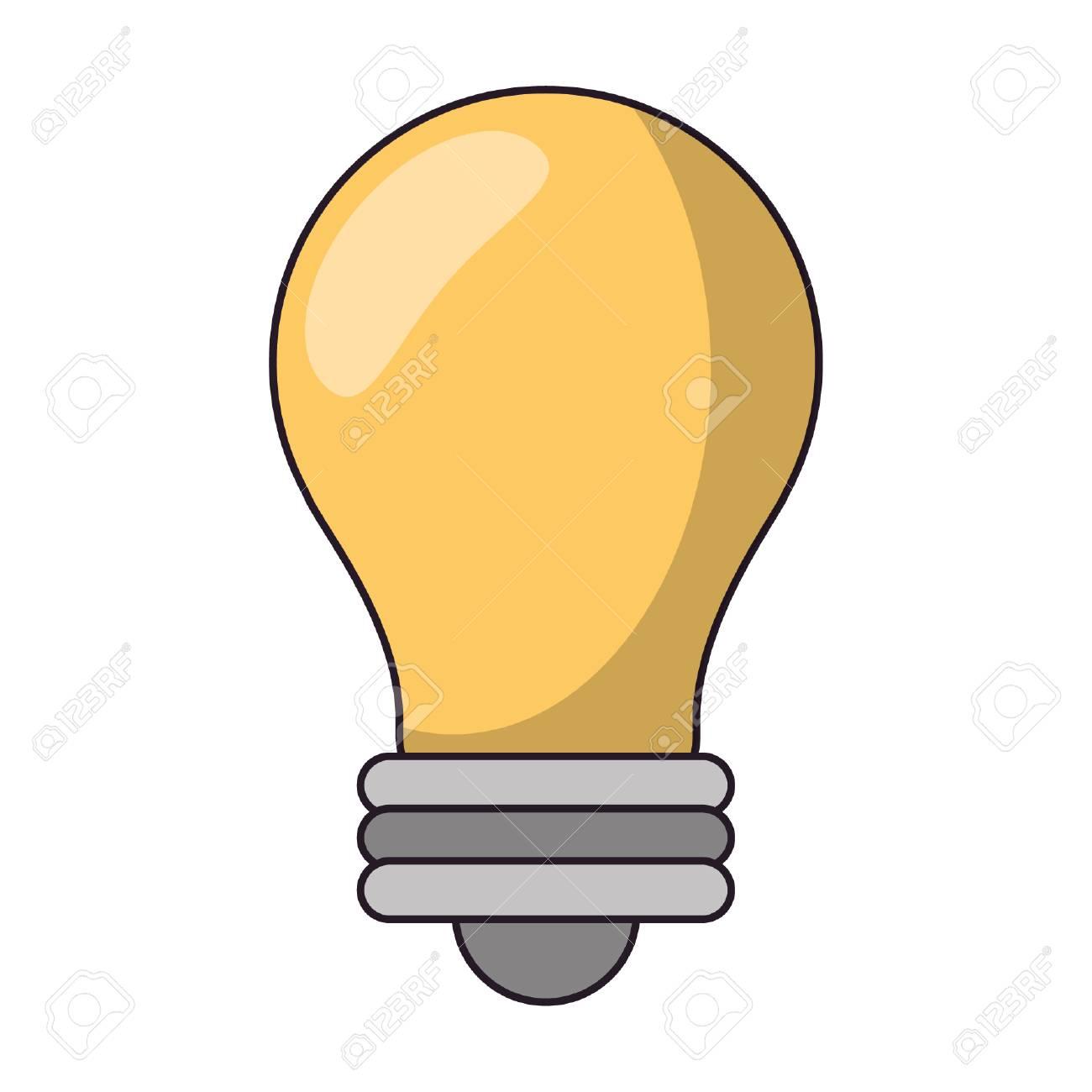 Bulb light symbol isolated vector illustration graphic design - 122549926