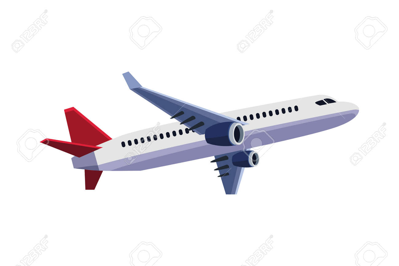 airplane flying travel isolated icon vector illustration design - 157526716