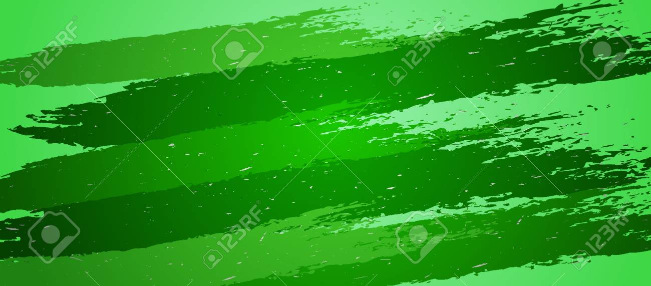 Artistic srtokes green background with a place for your text Stock Vector - 16710521