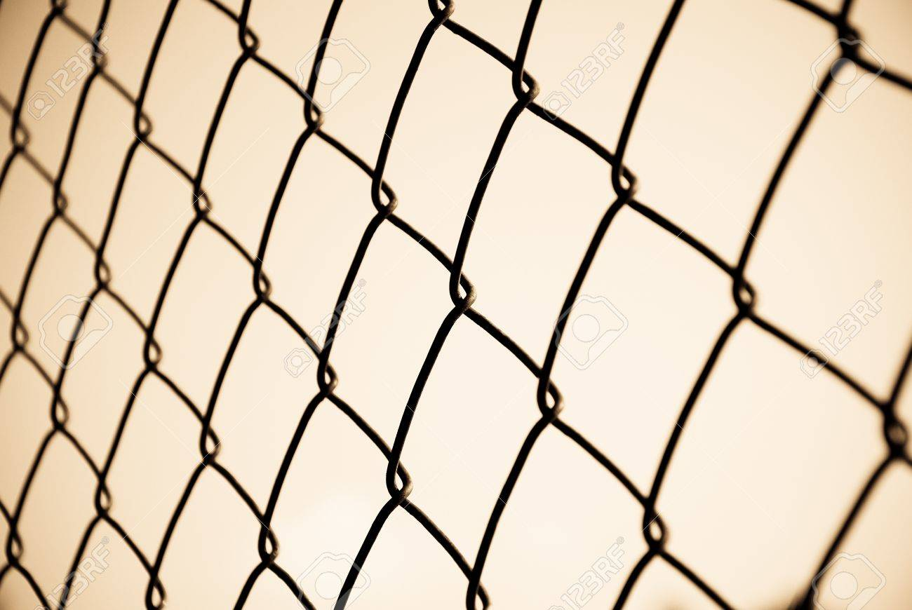Mesh fence Stock Photo - 16236047