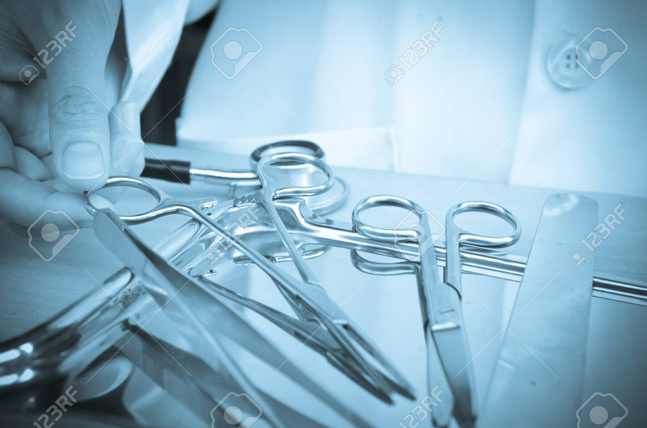 Surgical instrument dotor Stock Photo - 23441982