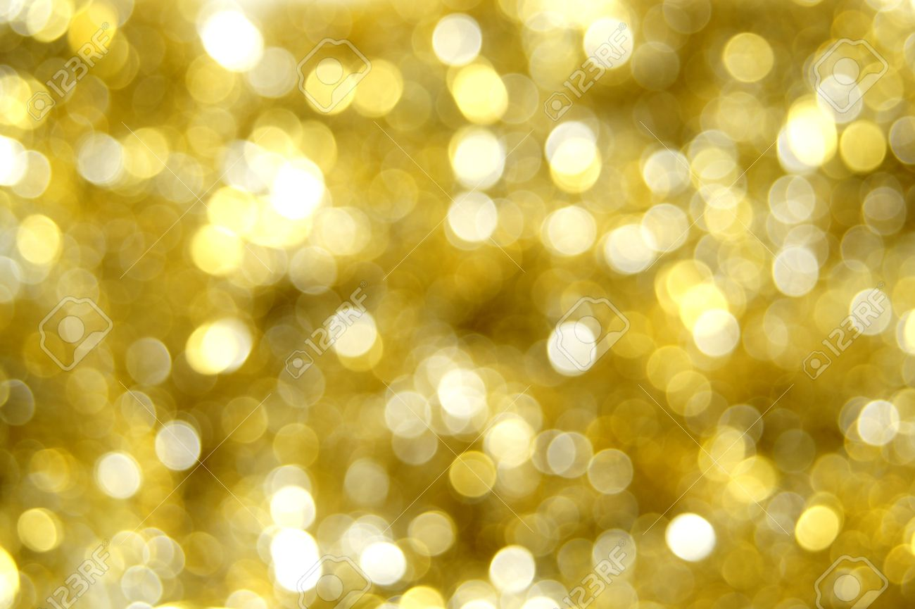Abstract Gold Christmas Light Background Stock Photo 11137516