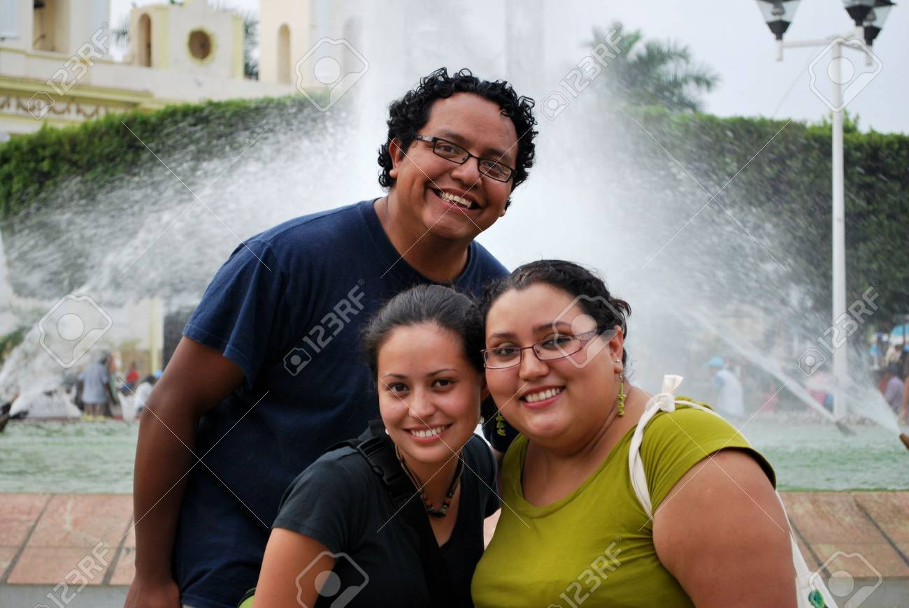 Hispanic friends Stock Photo - 4789296