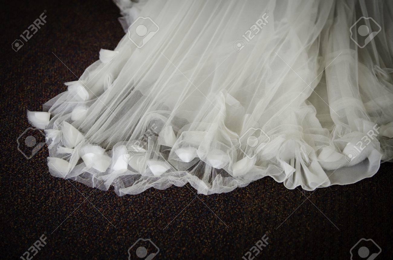 Wedding Dress Fabric Texture