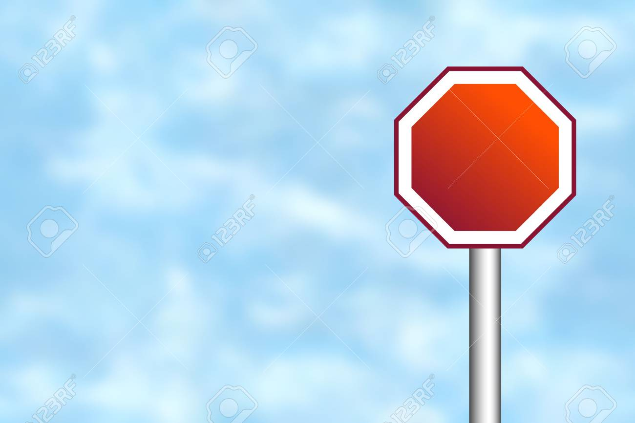 Blank road sign for your own text Stock Photo - 4998203
