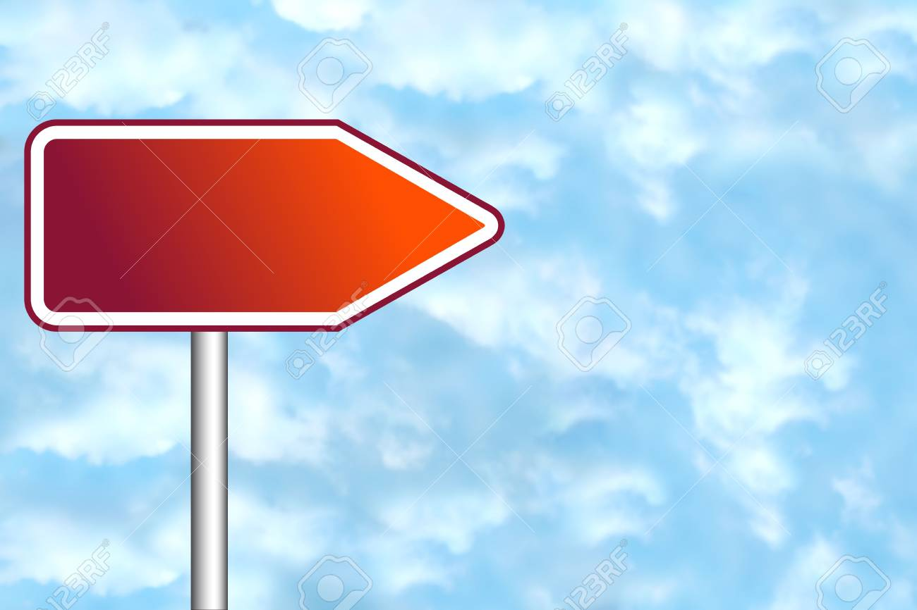 Blank road sign for your own text Stock Photo - 4998096