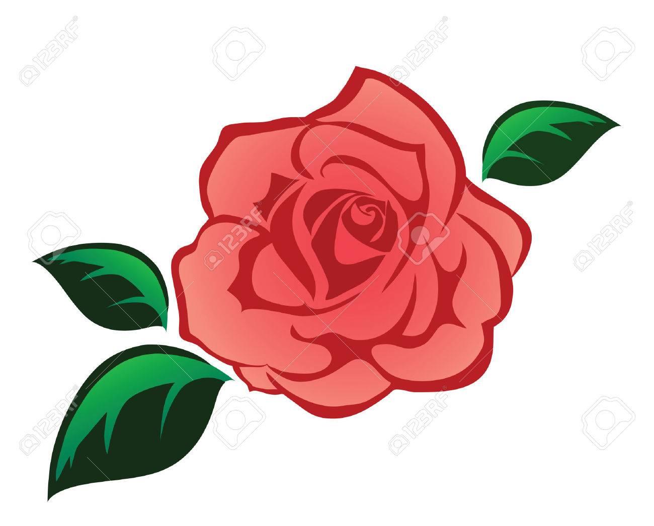 バラの葉イラストのイラスト素材ベクタ Image 40547227