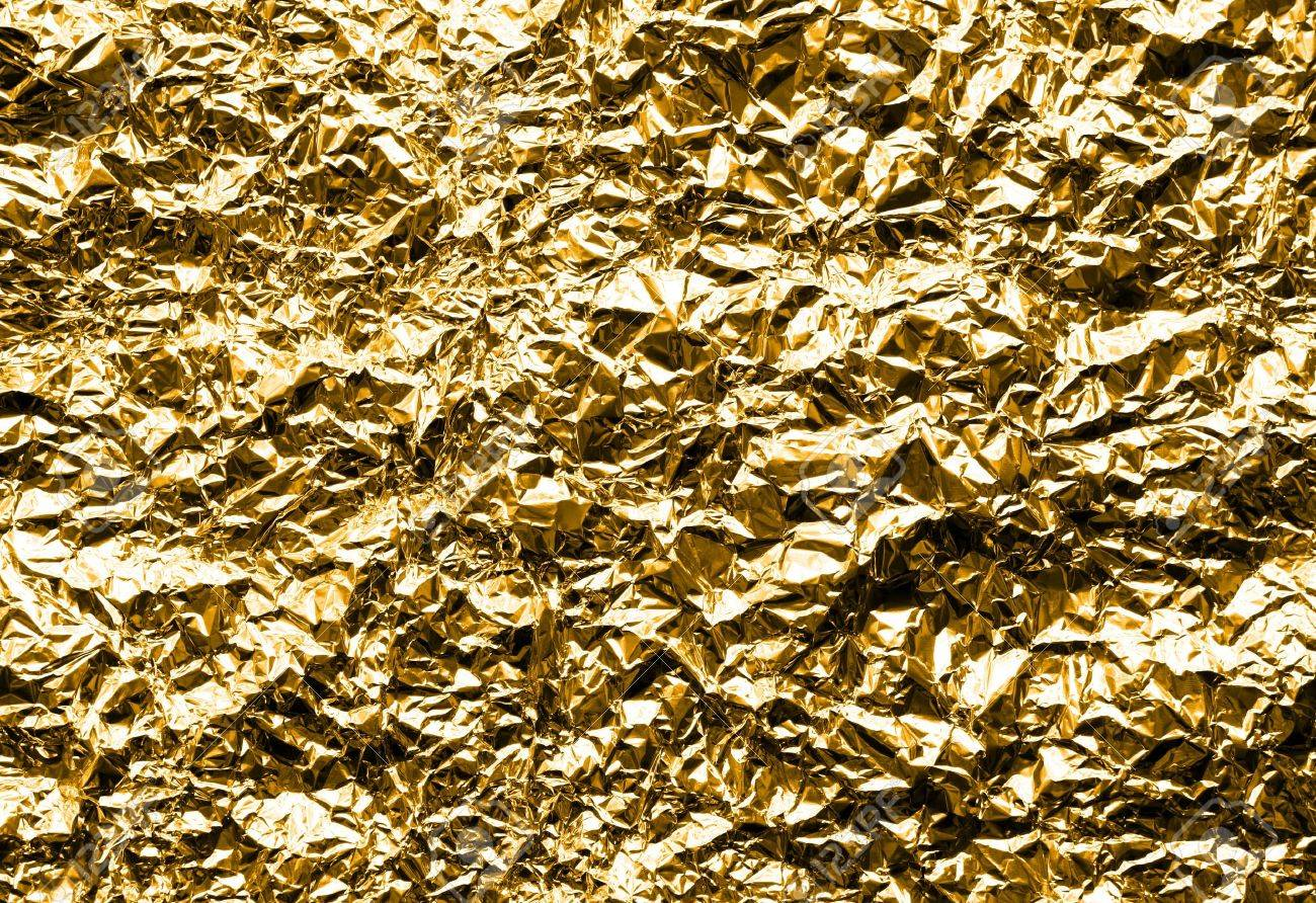 Texture in Gold Color