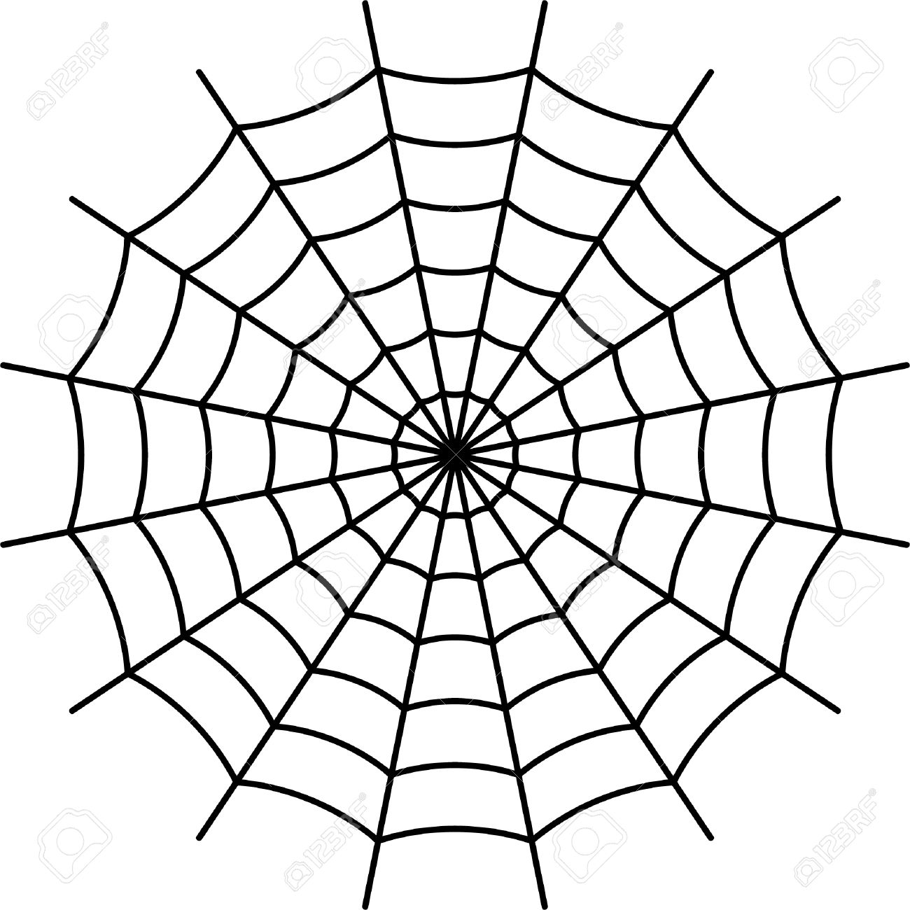 spider web black vector royalty free cliparts vectors and stock rh 123rf com free vector spider web pattern spider web vector free download
