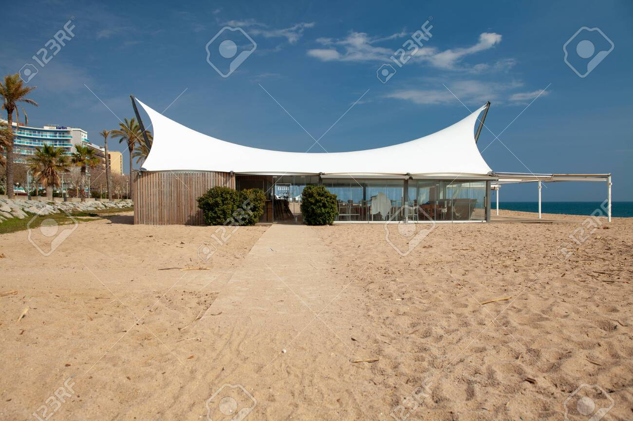 Calella Barcelona Spain March 13 2020 Exterior Restaurant Stock Photo Picture And Royalty Free Image Image 143986989