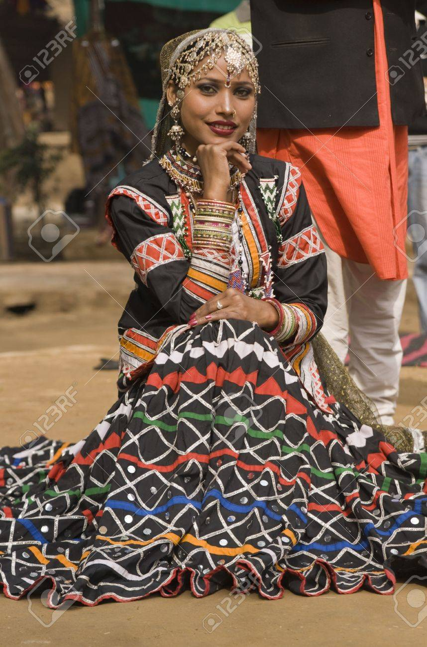 9a3d4bc358df Beautiful Kalbelia dancer from the Jaipur area of Rajasthan, India. Dressed  in ornate black