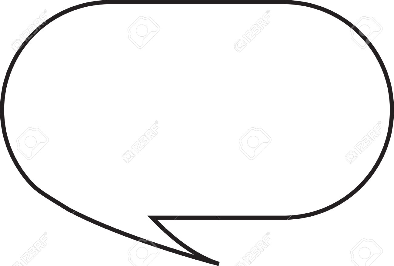 Thought or speech bubble. Could be used as a text space or in a comic strip Stock Photo - 9895779