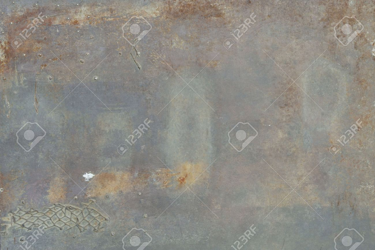 rusty metal texture - grunge old texture metallic Stock Photo - 9895369