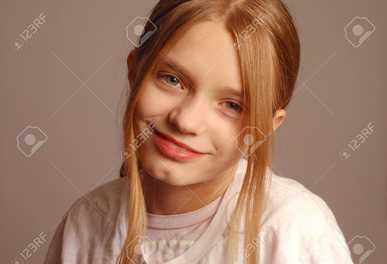 preteen nudism puberty: Pre-Teen Girl Portrait