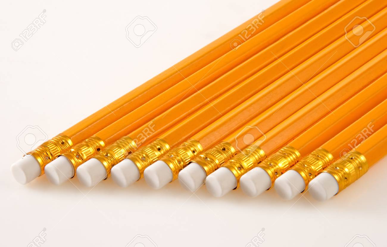 Bunch of Lead Pencils Stock Photo - 16103143