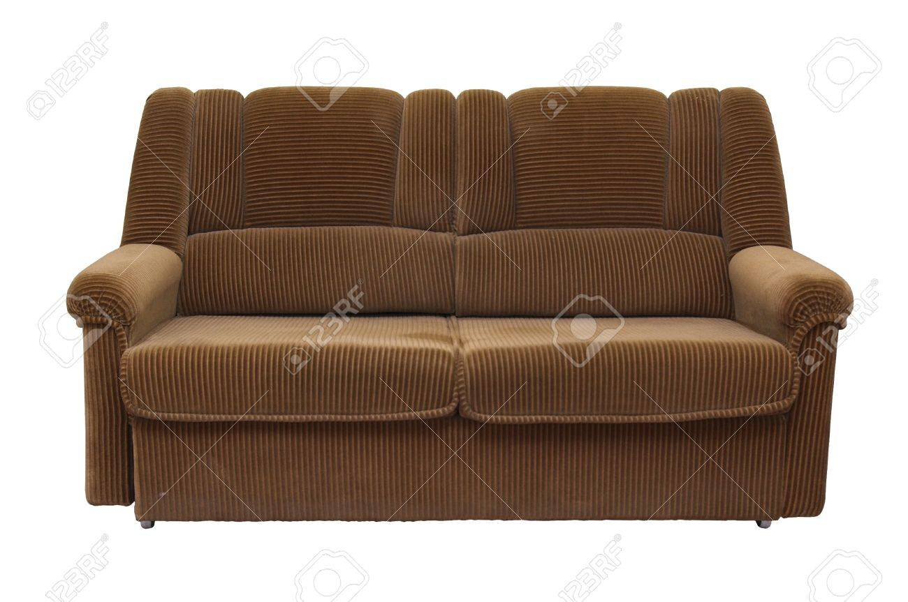 Old Sofa Old Sofa On White Background Stock Photo Picture And Royalty Free
