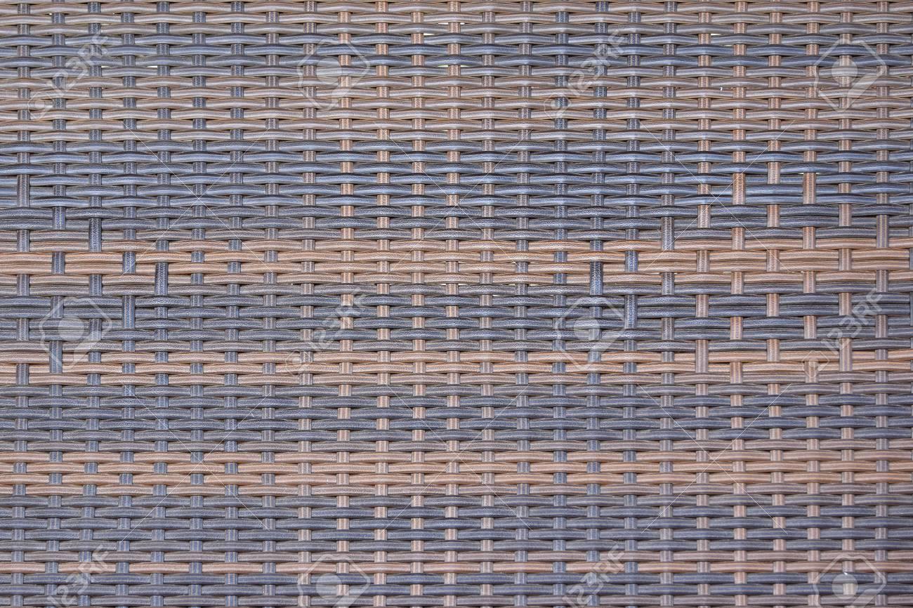 Close Up De Ratán Sintético Tejido De Textura Como Se Utiliza En ...