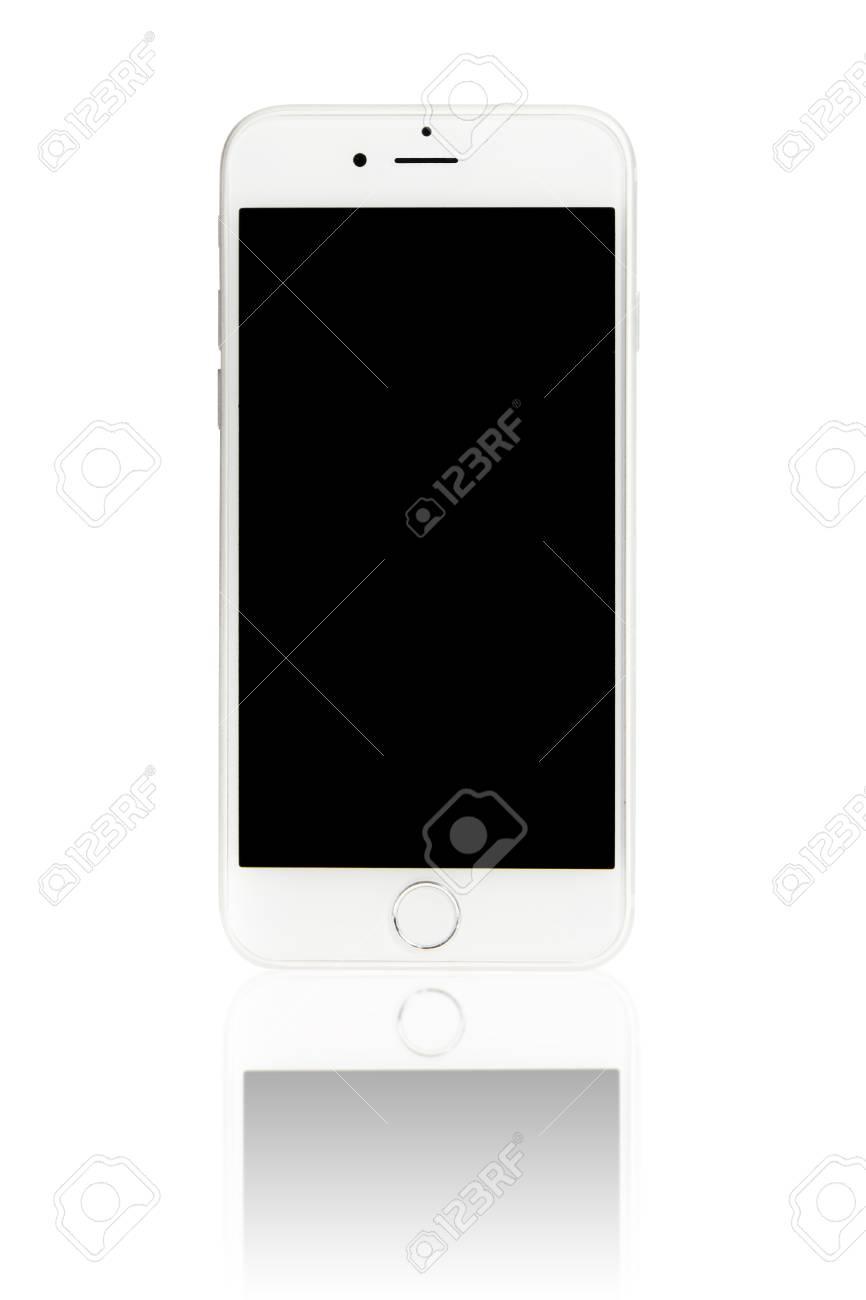 Bangkok Thailand December 22 2015apple Iphone 6 On White Stock