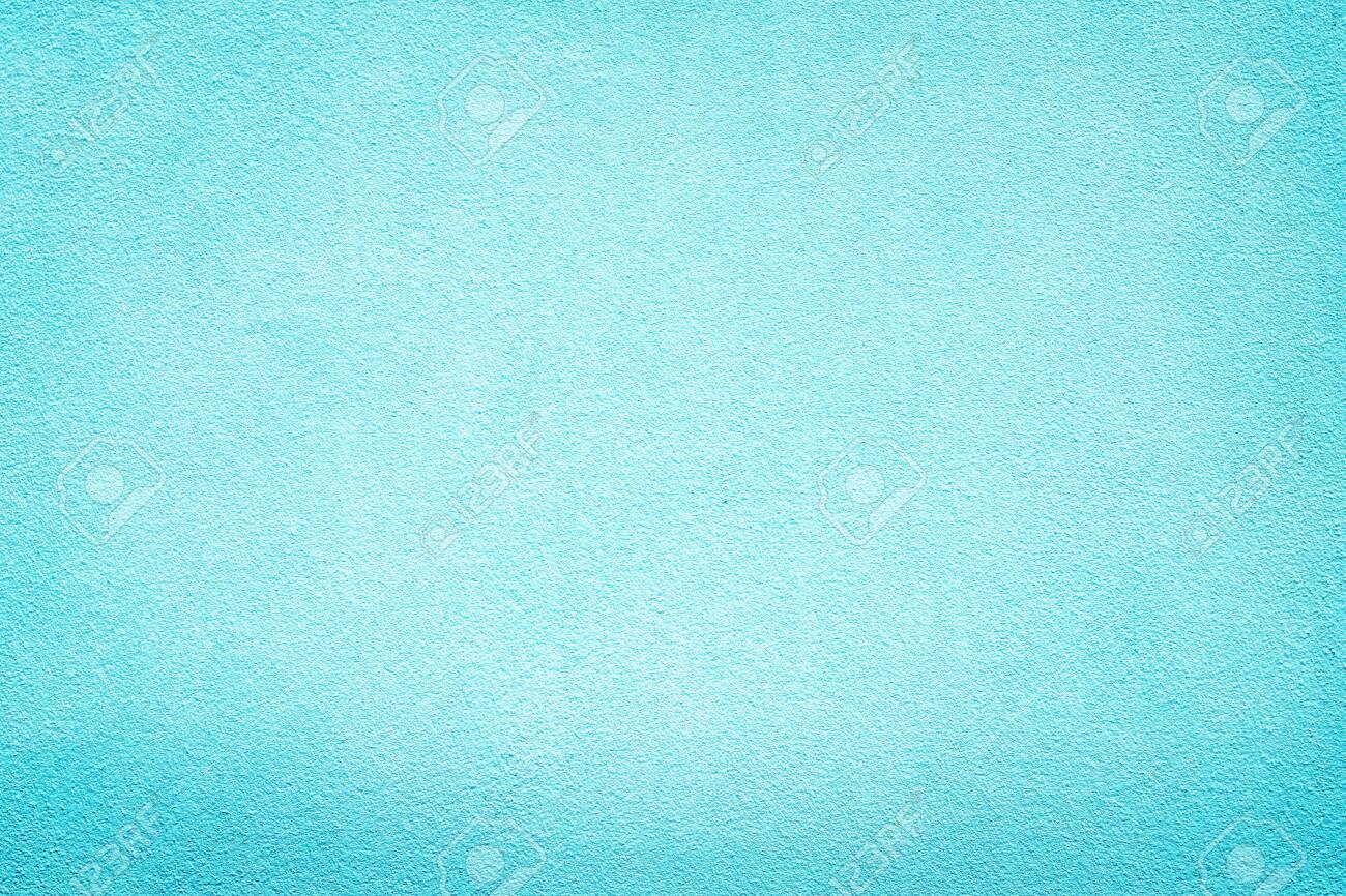 Vintage Blue aquarelle painted wall Background paint decoration backdrop color pop design - 128188075