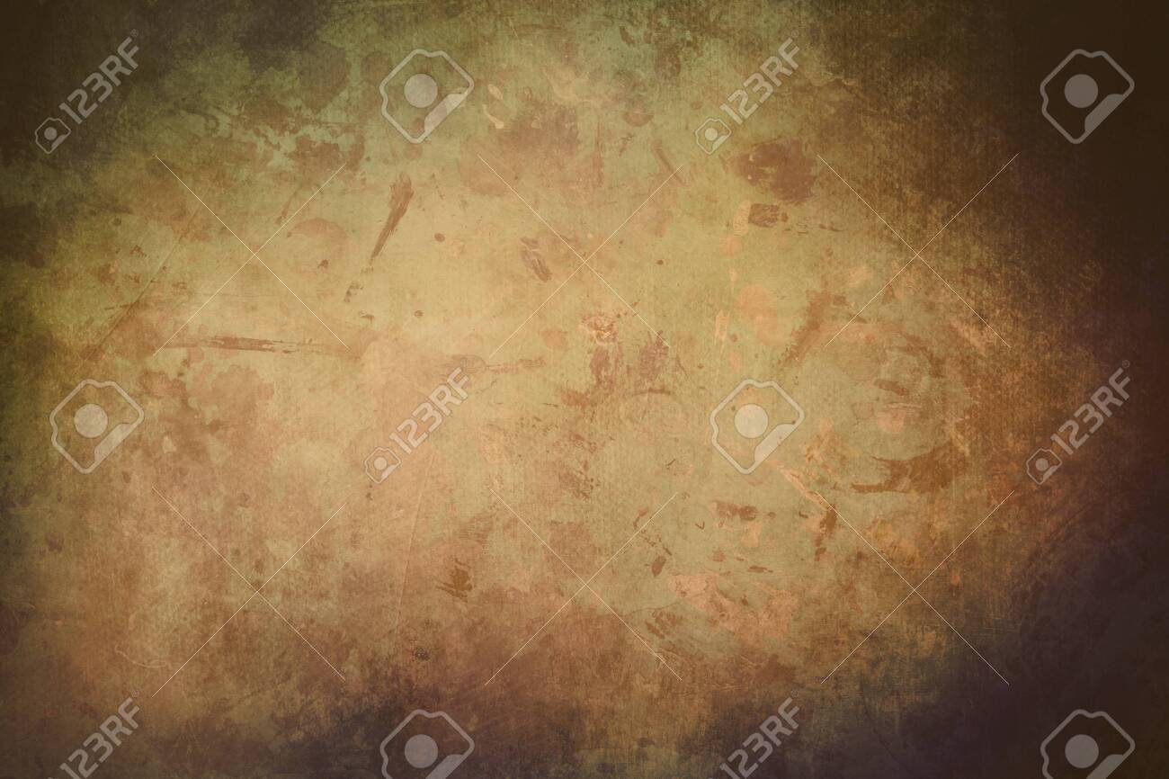 grungy backdrop with dark vignette borders - 149339919