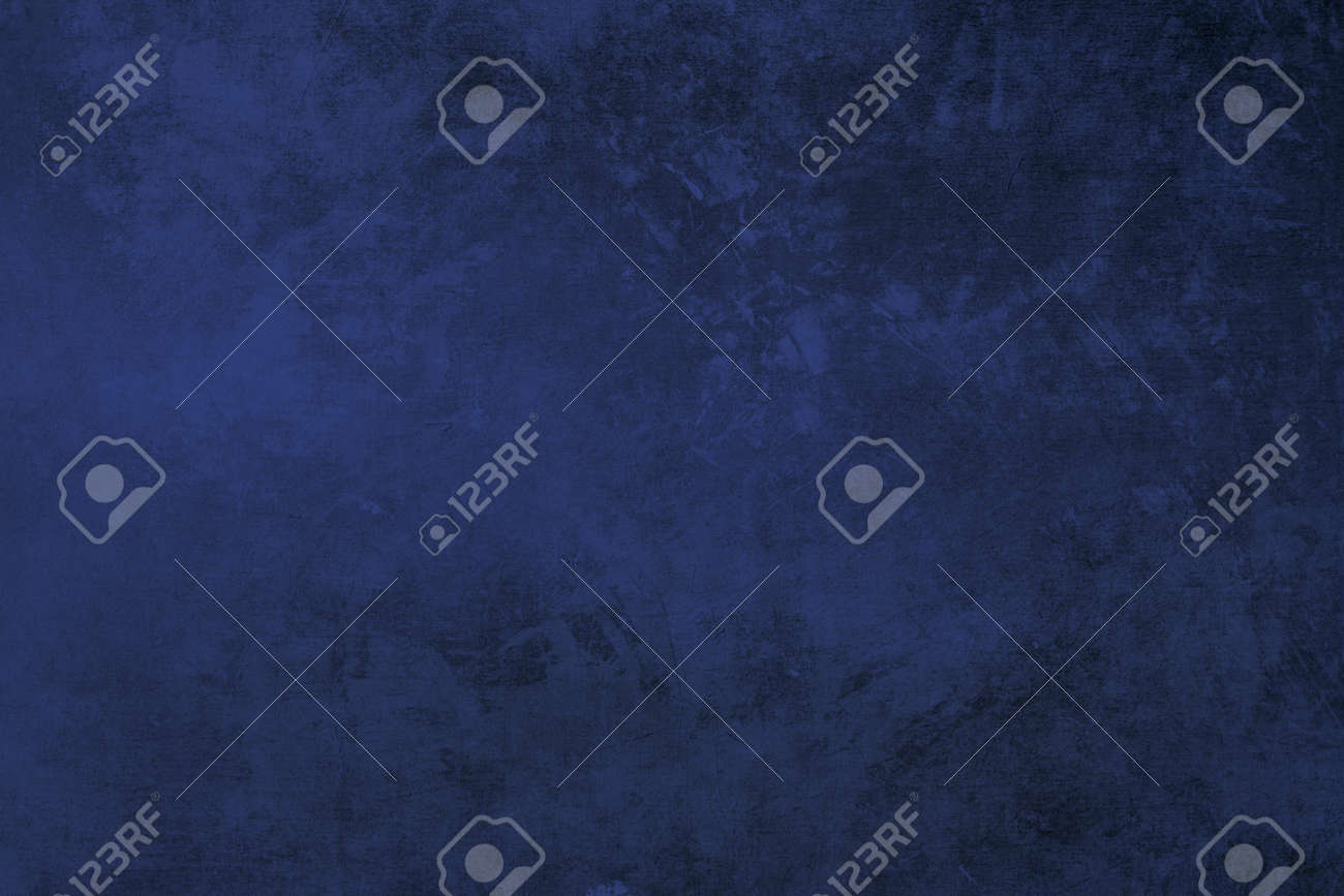 Indigo blue colored grungy background or texture - 154768089