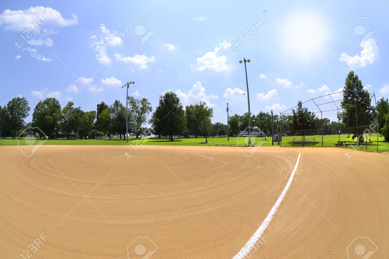 Baseball Field on a Sunny Afternoon Stock Photo - 14662282