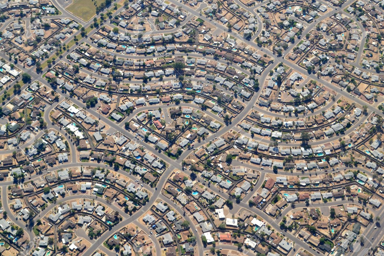 Phoenix Arizona USA Earthshots Satellite Images Of Phoenix - Map of phoenix on us map