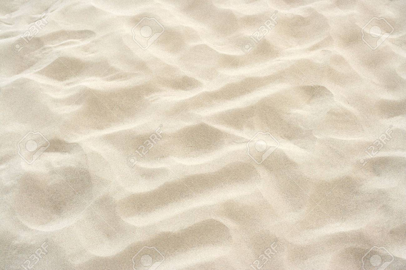 Photo Of Fine Beach Sand Background Stock