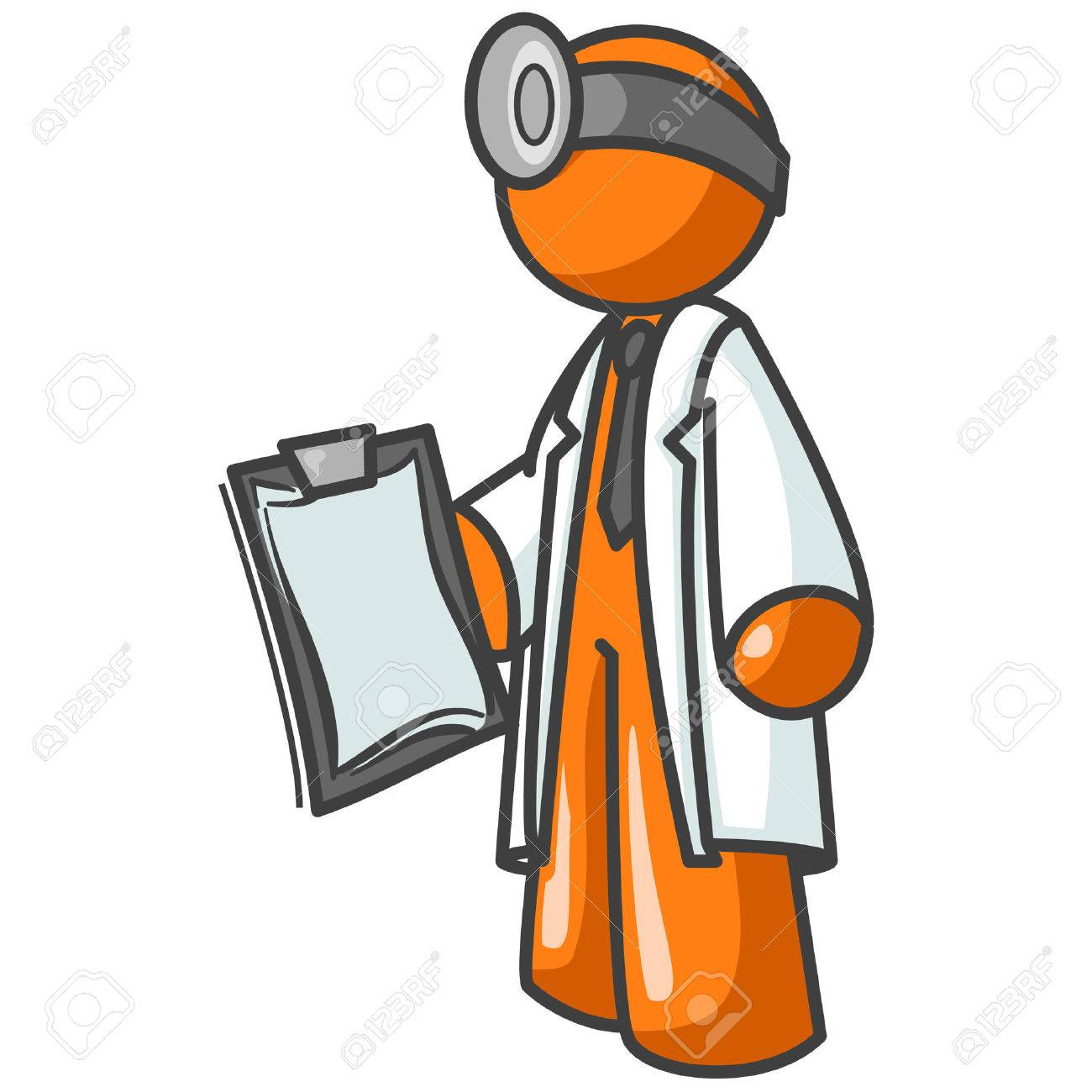 Obviously a doctor, but could also be a concept for computer repair or troubleshooting. Stock Vector - 1905759