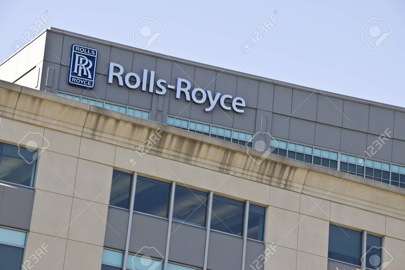 indianapolis - circa october 2015: rolls-royce corporation