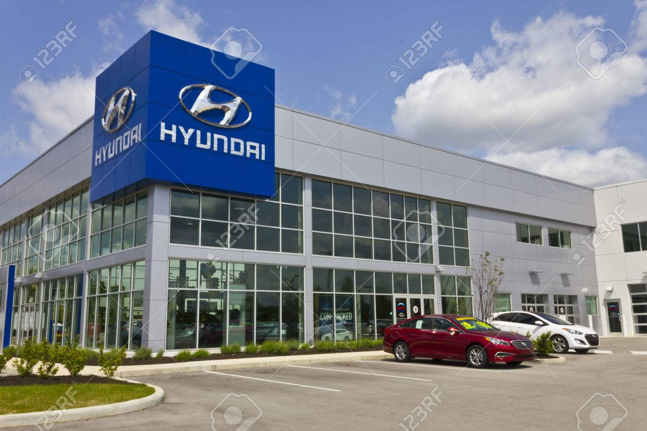 Hyundai Dealership Indianapolis >> Indianapolis Circa May 2016 Hyundai Motor Company Dealership