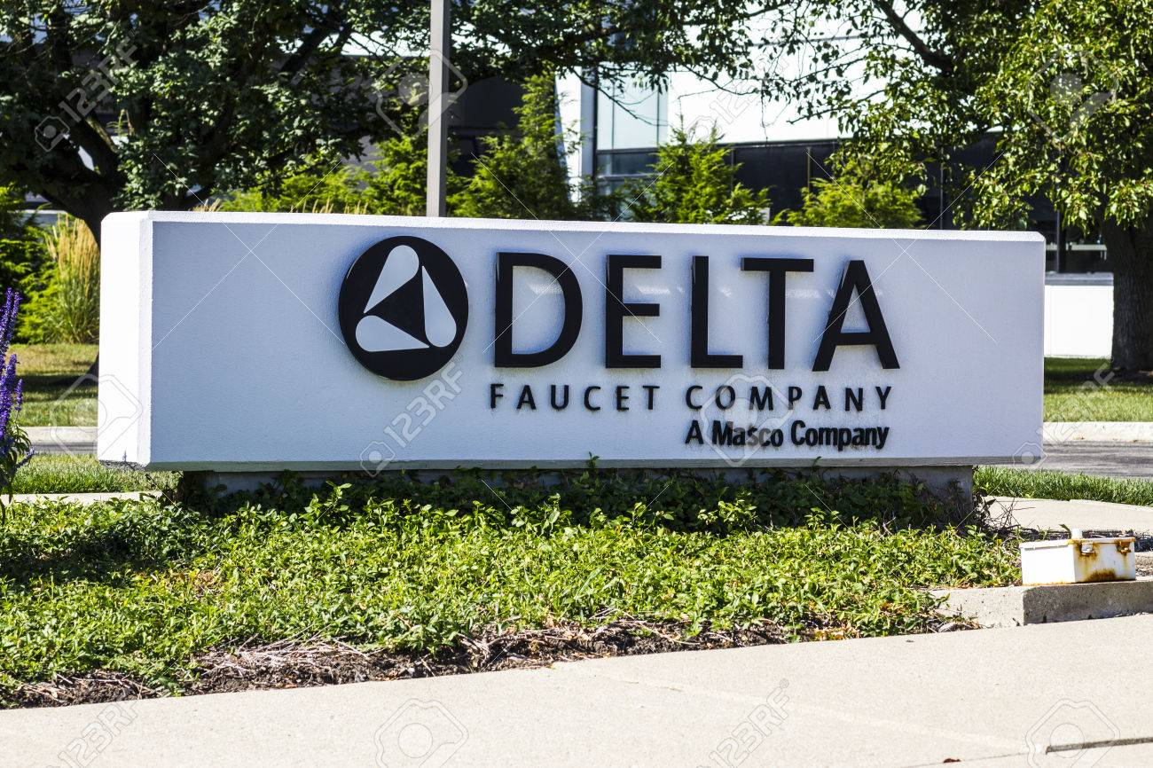 Indianapolis Circa August 2016 Delta Faucet Company Corporate