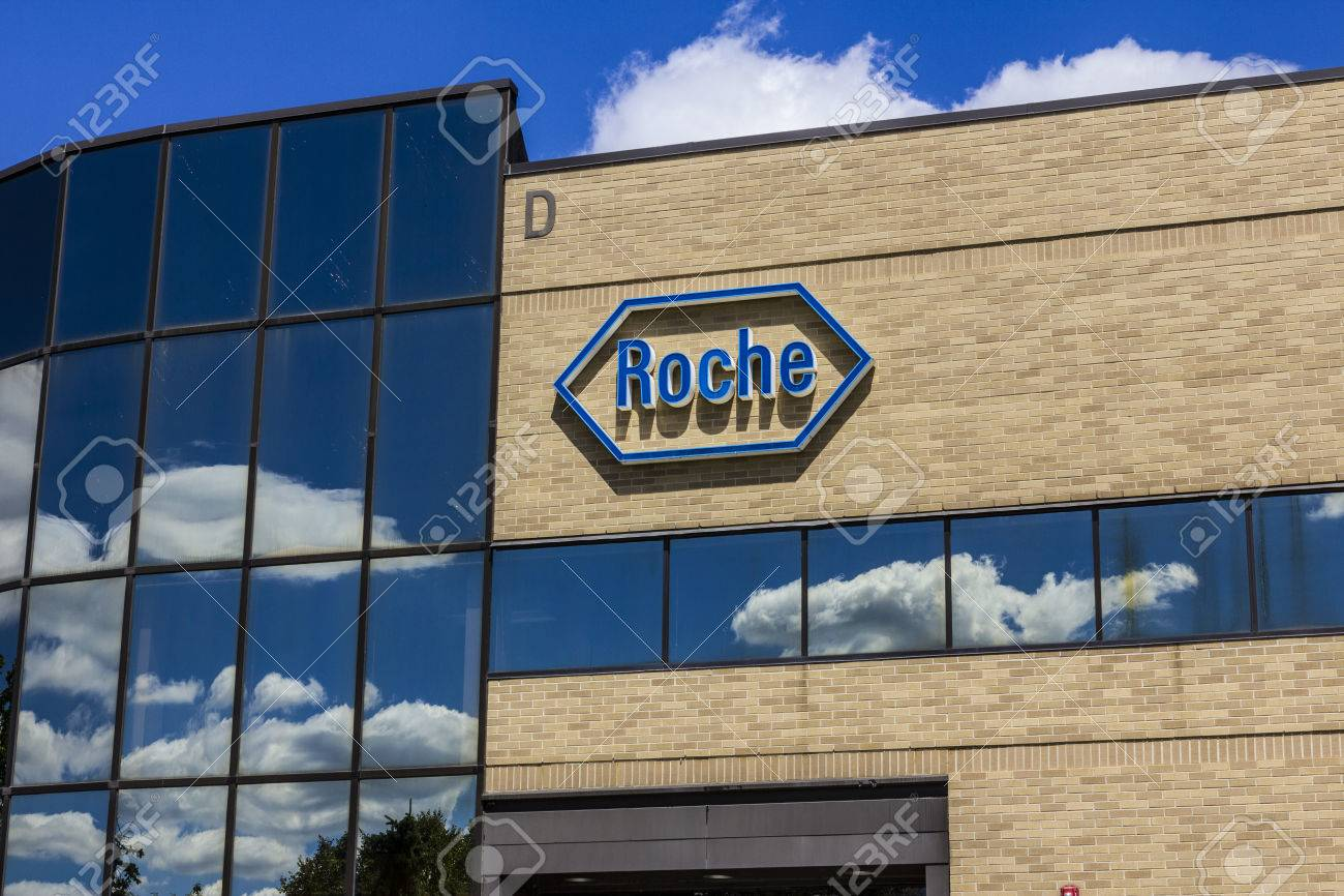 Indianapolis - Circa August 2016: Roche Diagnostics U S  Headquarters