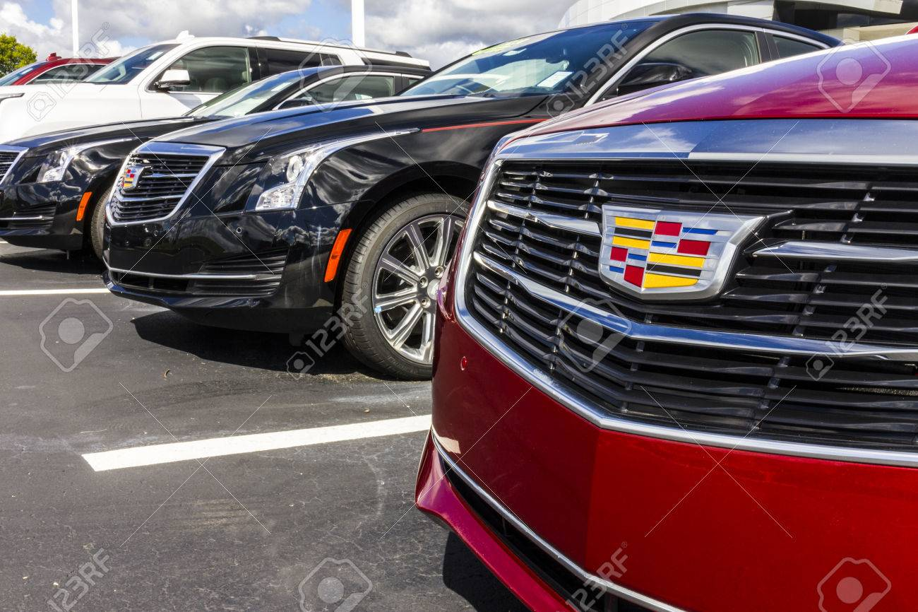Indianapolis - Circa September 2016: Cadillac Automobile Dealership