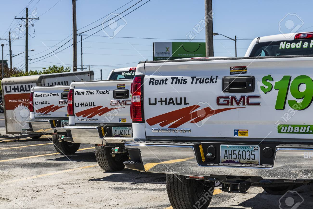 U Haul Moving Truck >> Kokomo Circa May 2017 U Haul Moving Truck Rental Location
