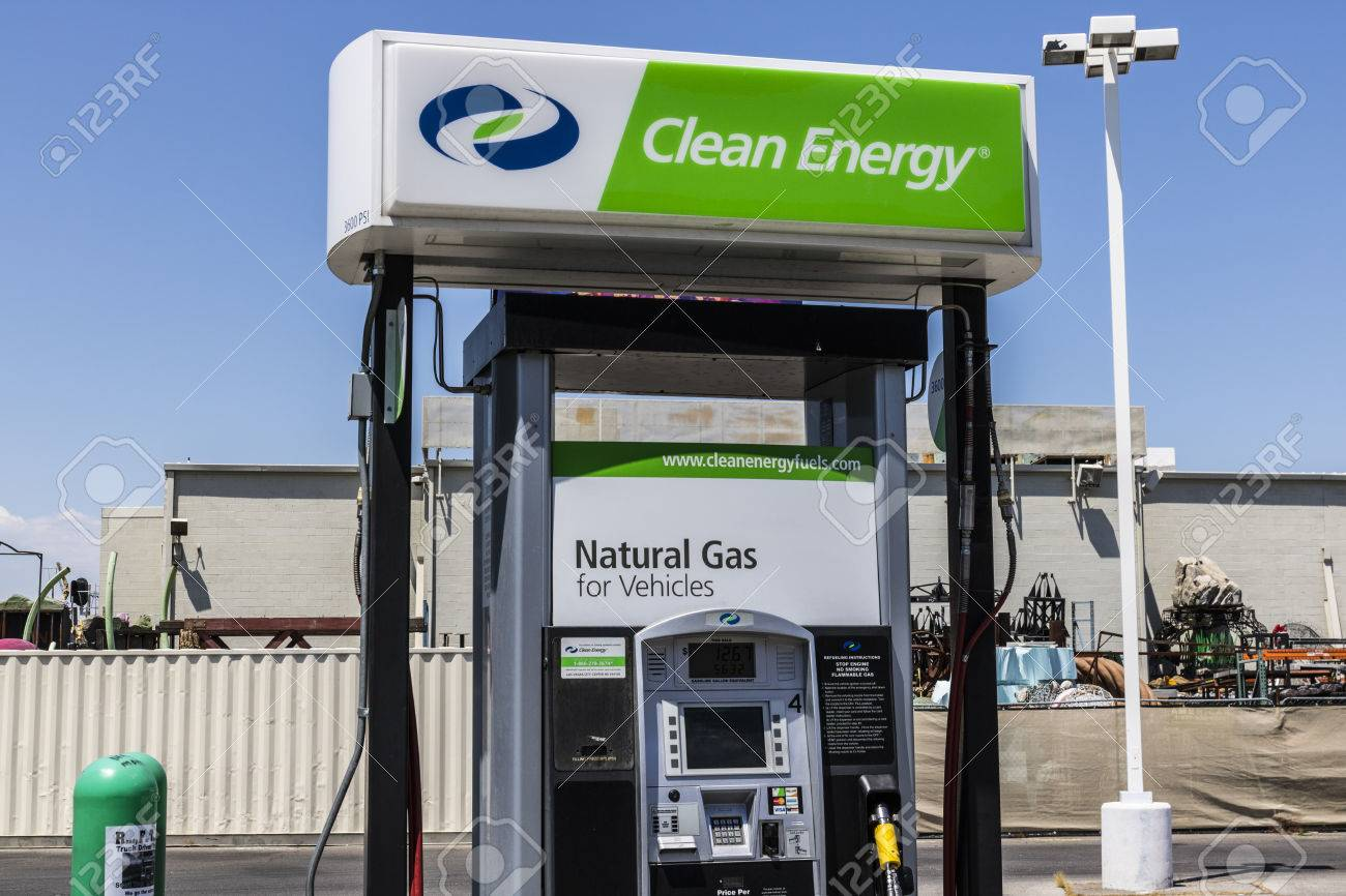 Las Vegas - Circa July 2017: Clean Energy Fuels Natural Gas Station
