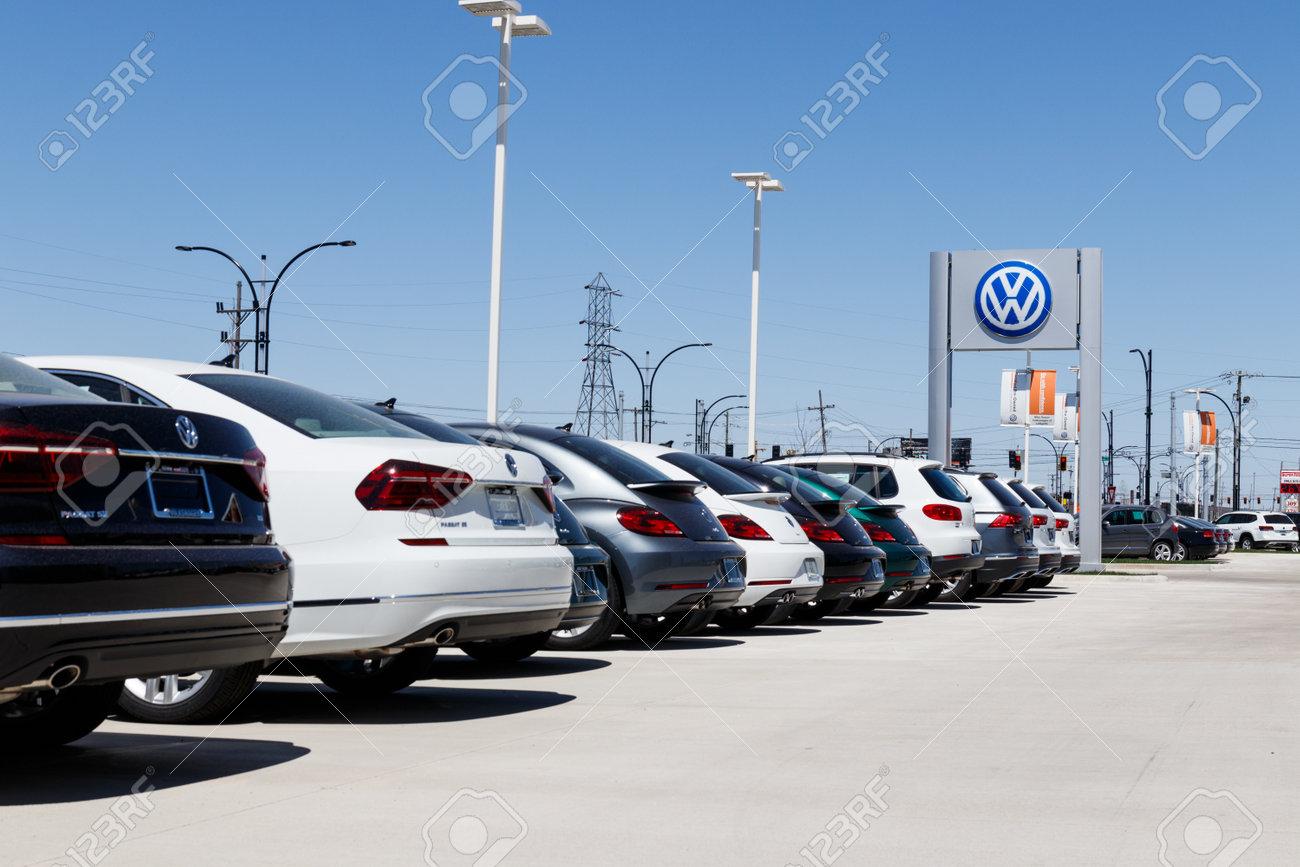 Lafayette - Circa April 2018: Volkswagen Cars and SUV Dealership