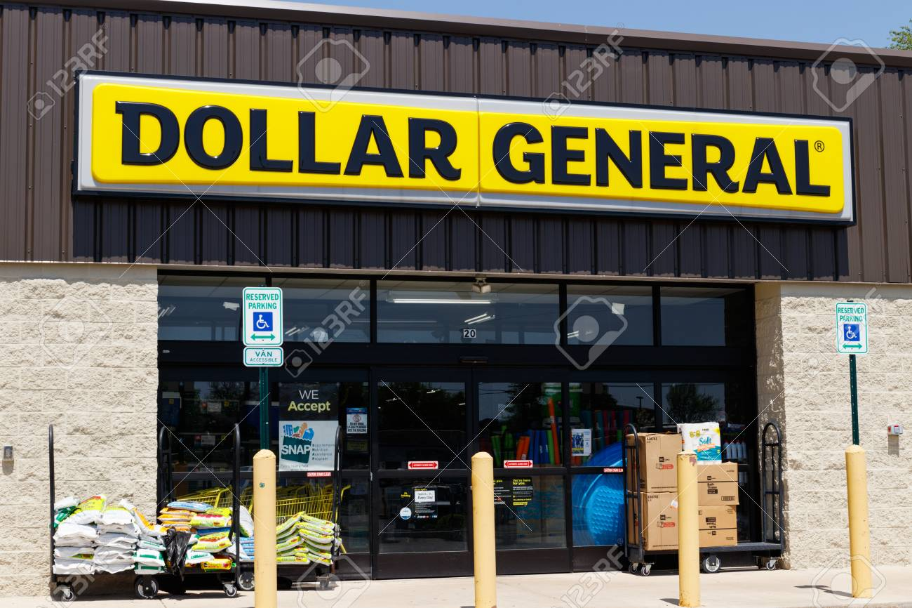 Peru - Circa May 2018: Dollar General Retail Location. Dollar General is a Small-Box Discount Retailer I - 102290919
